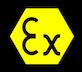 Atex logo - explosive atmospheres